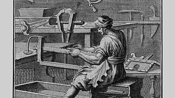 """""""Der """"Bleyweissschneider"""" von Christoph Weigel (1711) - www.BR.de"""