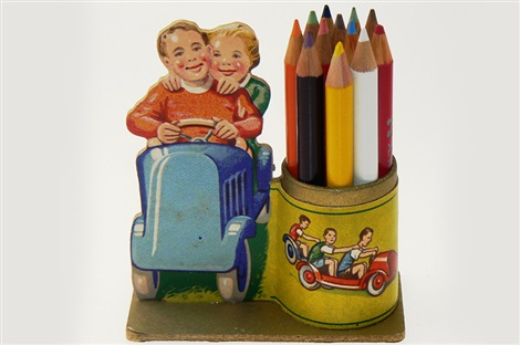 dekoratív tolltartó 1932-ből